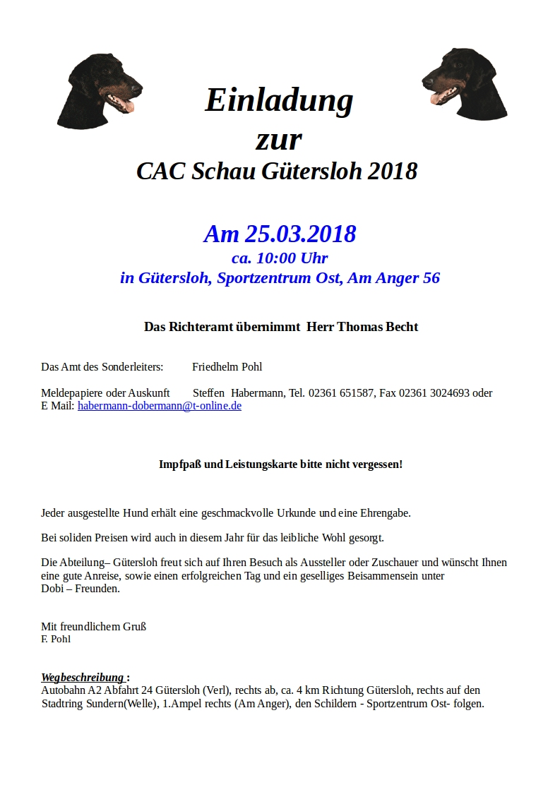 CAC 2018 in Gütersloh